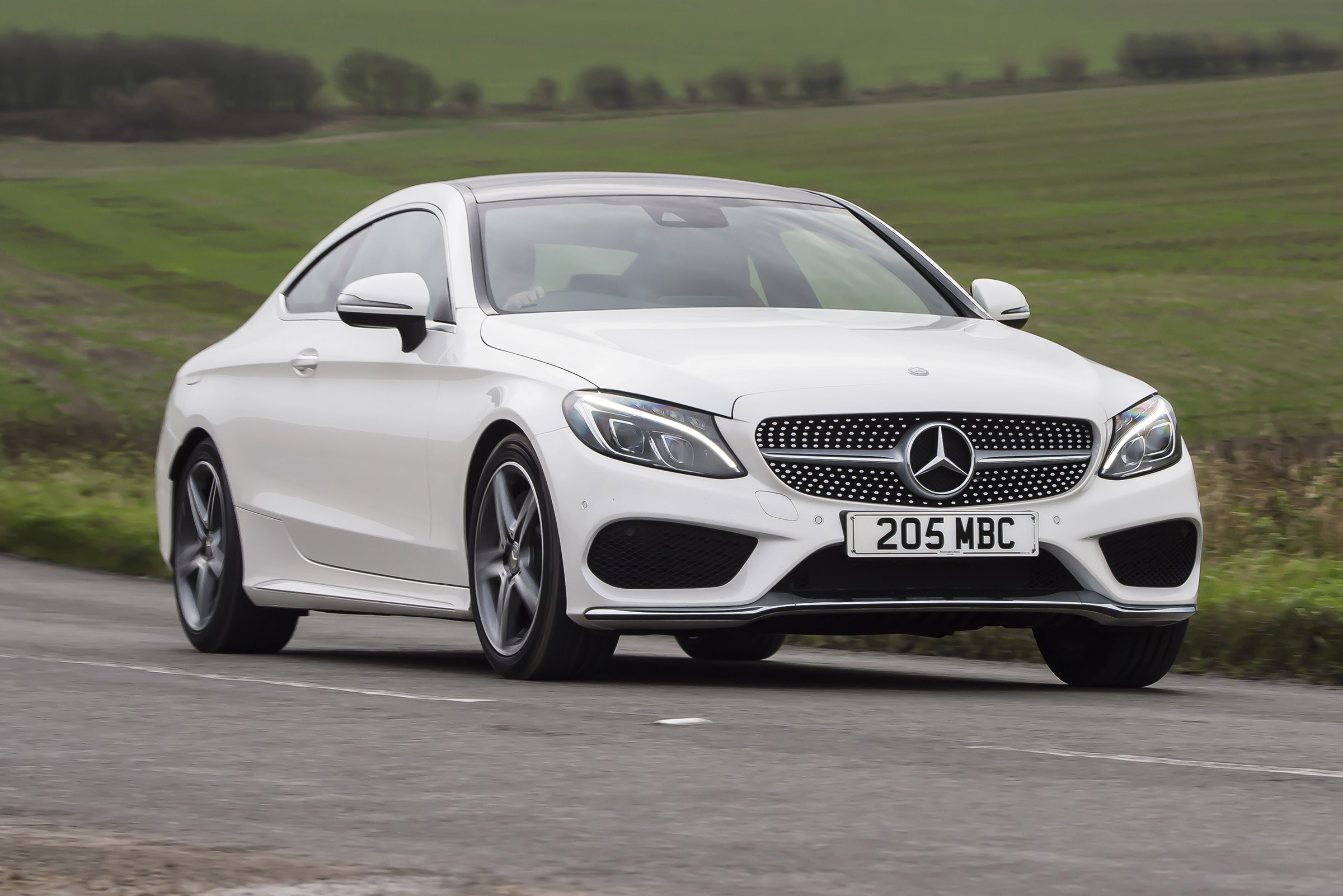 Mercedes C Class Coupe Review Auto Express
