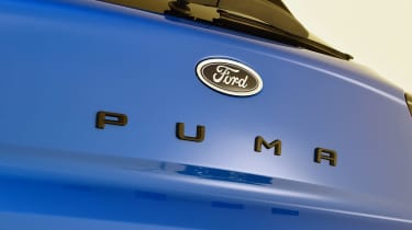 Ford Puma - studio badge