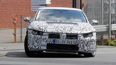 VW Passat CC spies front