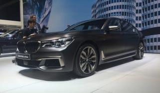 BMW M760Li Geneva - front