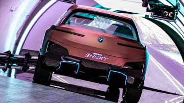 BMW Vision iNEXT concept - plane rear