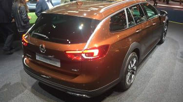 Frankfurt - Vauxhall Insignia Country Tourer - rear