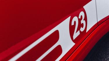 Porsche 911 British Legends Edition decal 23