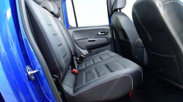 vw amarok interior rear seats