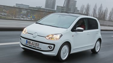 VW up! 5-door front tracking