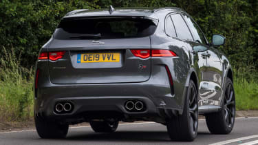 Jaguar F-Pace SVR - rear cornering
