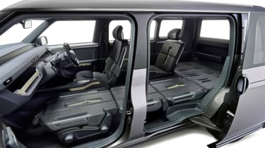 New Toyota Tj Cruiser concept - interior