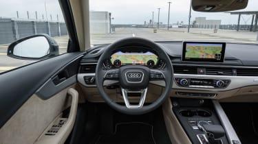 Audi A4 Allroad dash
