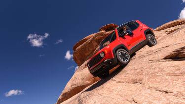 75 years of Jeep - Renegade red
