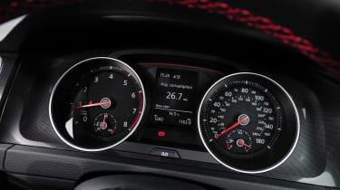 Volkswagen Golf GTI dials