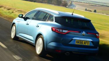 Renault Megane Sport Tourer - rear action
