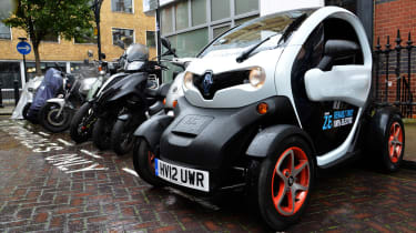 Renault Twizy front parked