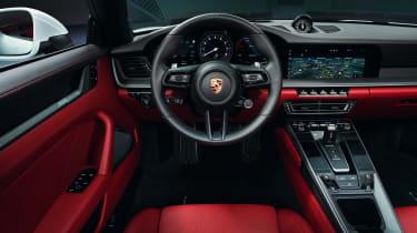 Porsche 911 Carerra Cabriolet - dash