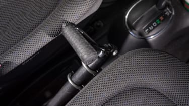 Disability driving feature - lever