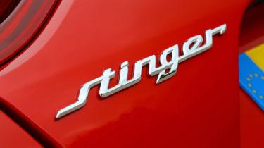 Kia Stinger - Stinger badge