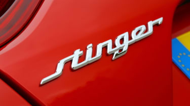 Kia Stinger - Stinger badge