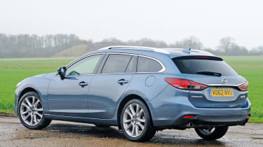 Mazda 6 Tourer rear static
