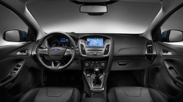 New Ford Focus 2014 interior