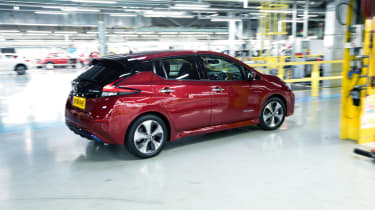 Nissan Leaf long termer first report - rear