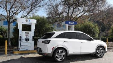 Hyundai Nexo - refuelling