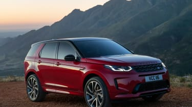 Land Rover Discovery Sport - front twilight
