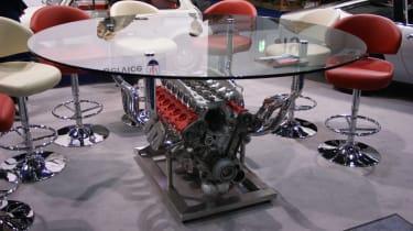 Ferrari table at LCCS
