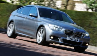 BMW 5 GT M Sport front cornering