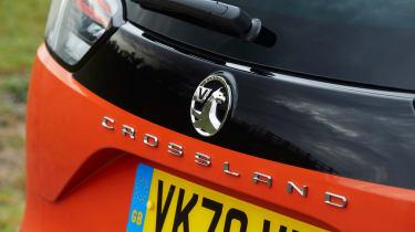 Vauxhall Crossland - badge
