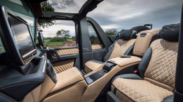 Mercedes-Maybach G 650 Landaulet - rear seats
