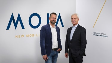 MOIA CEO and Muller