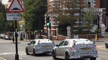 Honda Civic Type-R 2017 London spy shots close