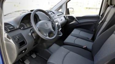 Mercedes Vito interior