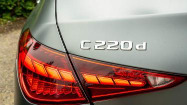Mercedes C-Class - rear badge