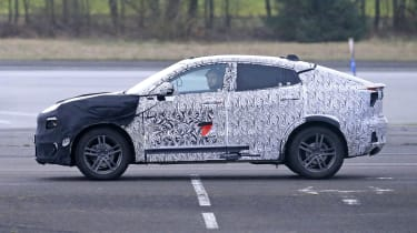 Lynk & Co Coupe-SUV spied