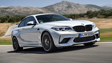 07 BMW M2 Competition - front
