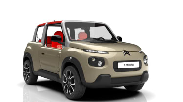 Citroen E-Mehari - front three quarter beige