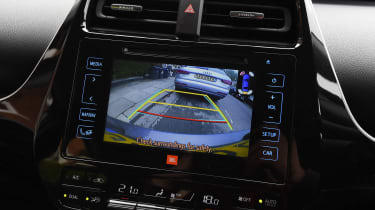Toyota Prius long-term test - third report reversing camera