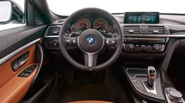 BMW 340i GT - dash