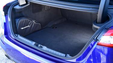 Maserati Ghibli facelift - boot