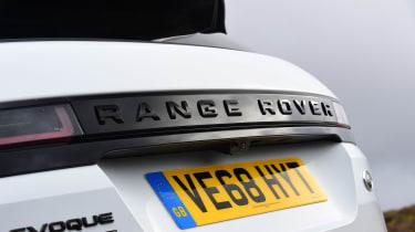 Range Rover Evoque - rear detail