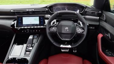 Peugeot 508 SW estate interior