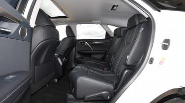 Lexus RX 450h L - rear seats