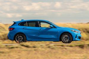 BMW 118i - side shot