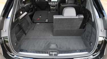 Mercedes GLE - boot seat up