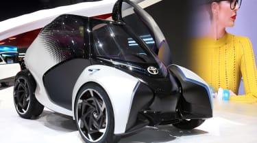 Toyota i-Tril concept Geneva - side/front