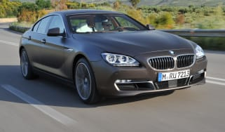 BMW 640d Gran Coupe front tracking