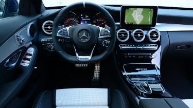Mercedes-AMG C63 S - interior