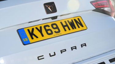 Cupra Ateca - rear badge