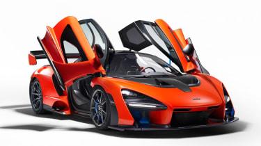 McLaren Senna - front doors open