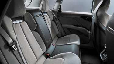 Audi Q4 e-tron concept - rear seats